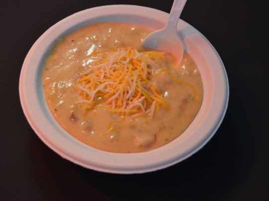 The cheesy potato soup at Murph's Beef and Ale is an old family recipe from Ireland.