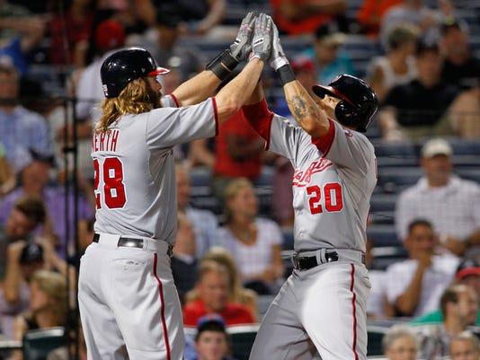 USP MLB_ Washington Nationals at Atlanta Braves