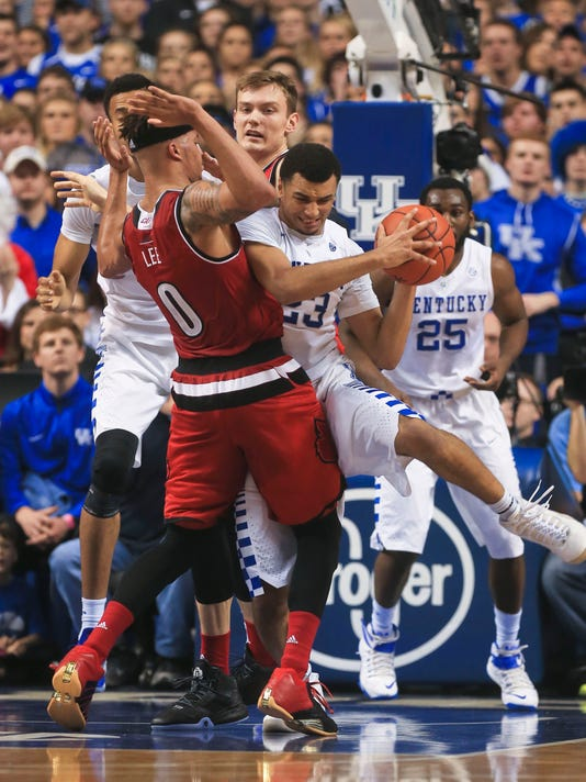 Why is Kentucky vs. Louisville basketball game on a ...