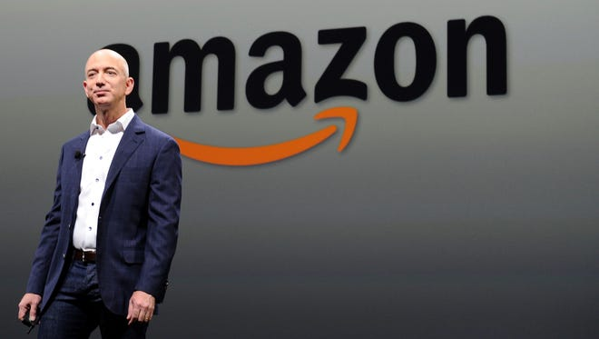 Jeff Bezos, CEO of Amazon, during a Sept. 2012 press conference in Santa Monica, California. Amazon will increase the cost of Prime memberships in the United Kingdom and Germany.