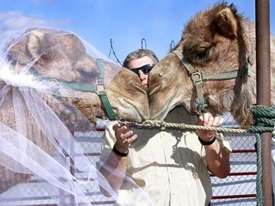 Jason McClure, owner of Landmark Mercantile in Mesquite,