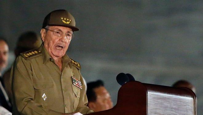 Cuba President Raul Castro