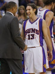 There were a lot of smiling on the Suns in 2009-10.