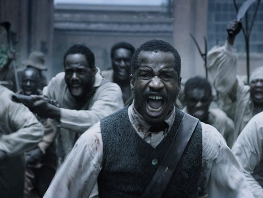 Nate Parker stars as slave rebel leader Nat Turner