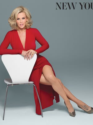 """Jenny McCarthy poses for """"New You"""" magazine."""