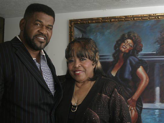 3/20/11 Denise LaSalle and her husband, James Wolfe,