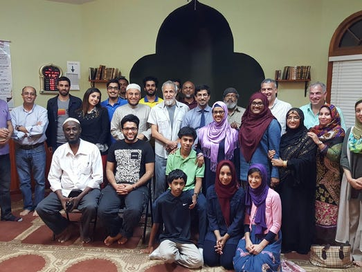 Yusuf Islam/Cat Stevens stopped by the Islamic Center