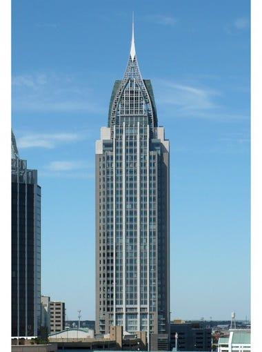 Alabama: RSA Battle House TowerCity: MobileHeight: 745 feetFloors: 35Year built: 2007