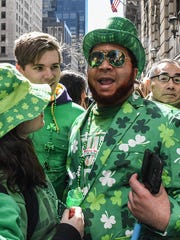 New York City's St. Patrick's parade is not only the largest in the country, drawing 2 million spectators annually, it's also the oldest. Established in 1762, the parade now lasts up to five hours.