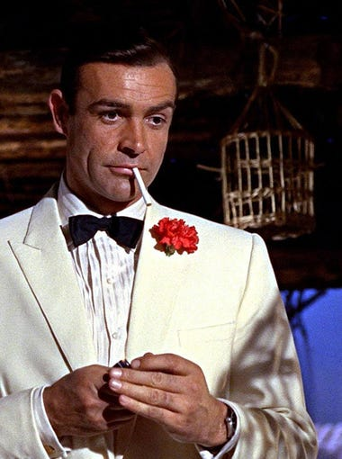 24/7 Tempo has ranked all 26 James Bond feature films from worst to best using online audience and critic ratings from Rotten Tomatoes and the Internet Movie Database. Scroll through to learn more.