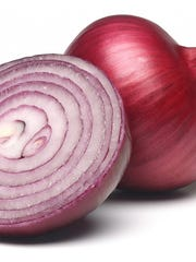 A red onion.