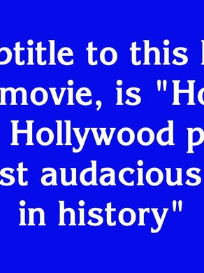 """$1200: """"The subtitle to this book, a 2012 movie, is 'How the CIA and Hollywood pulled off the most audacious rescue in history'"""""""