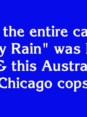 """Hollywood to Broadway for $1600: """"In 2009 the entire cast of 'A Steady Rain' was Daniel Craig and this Australian as Chicago cops"""""""