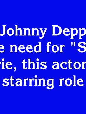 """$100: """"When Johnny Depp didn't feel the need for 'Speed', this actor got the starring role"""""""