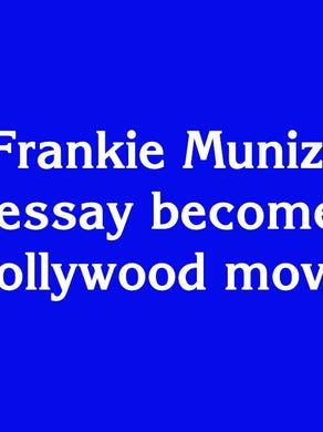 "$1600: ""2002: Frankie Muniz' stolen school essay becomes a big Hollywood movie"""