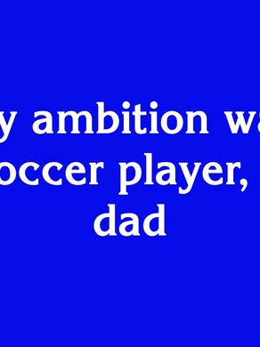 """""""F"""" True Hollywood Story for $1600: """"His early ambition was to be a pro soccer player, like his dad"""""""