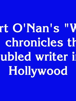 """$1000: """"Stewart O'Nan's 'West of Sunset' chronicles the life of this troubled writer in 1937 Hollywood"""""""