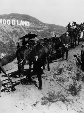 """The correct response: What is """"Hollywoodland""""?"""