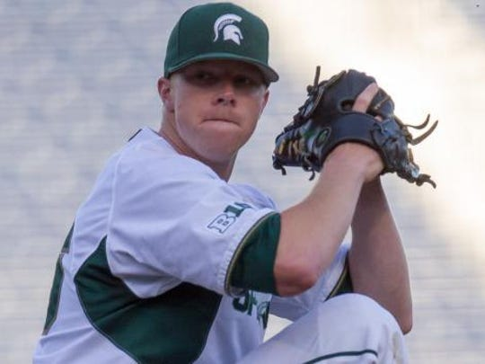 Redshirt sophomore starting pitcher Cam Vieaux went 4-7 with a 3.49 ERA and 71 strikeouts over 90 1/3 in 15 starts for MSU this spring. Baseball America ranks 6-foot-4, 191-pound left-hander as the state's No. 10 draft-eligible prospect.
