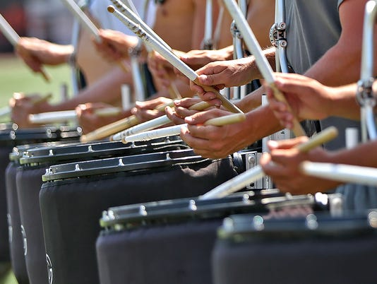 Indystar stock drums stock marching band stock drum corps