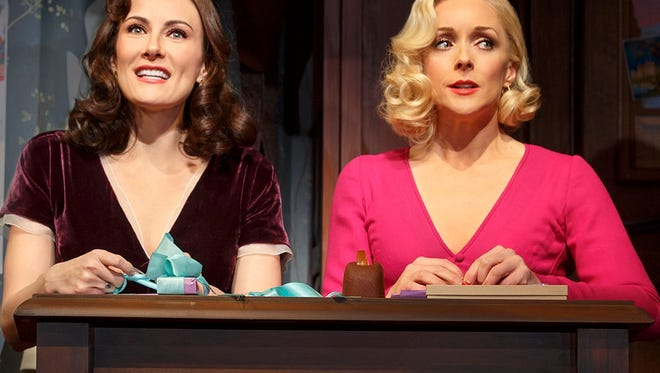 """Laura Benanti of Kinnelon and Parsippany native Jane Krakowski starring in the musical """"She Loves Me,"""" which will make Broadway history with a first-ever live-stream to home viewers on June 30."""
