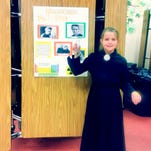Stout Elementary presents 'wax figures' of important pe