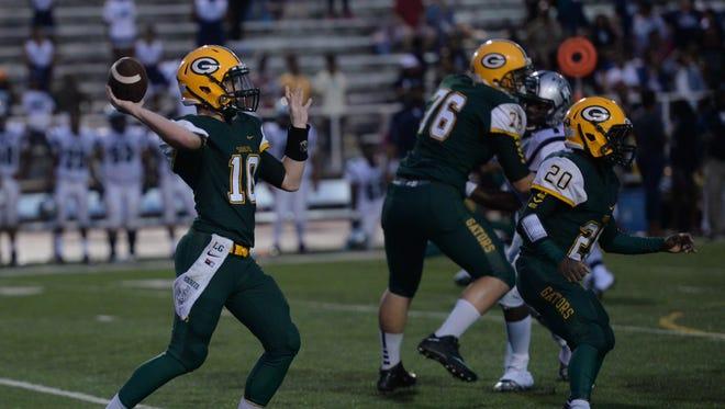 Captain Shreve quarterback Lucas Grubb hopes to lead his team to a 3-0 start this season.
