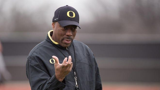 Former Oregon Ducks defensive coordinator Don Pellum.