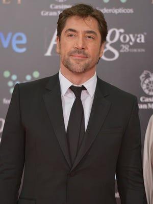 Javier Bardem attends Goya Cinema Awards 2014 at Centro de Congresos Principe Felipe on February 9, 2014 in Madrid, Spain.