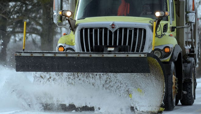 Richland County is under a Level 1 snow alert.