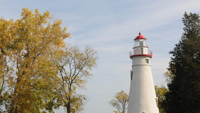 The Marblehead Lighthouse.