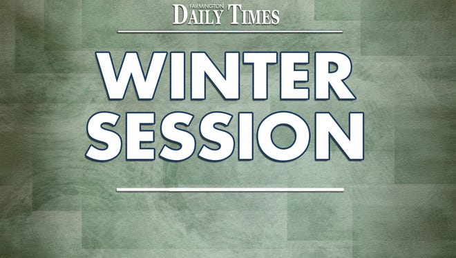 Winter legislative session