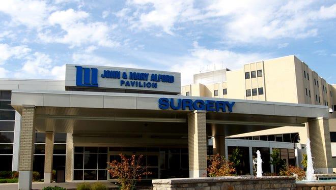 Licking Memorial Hospital in Newark, Ohio.