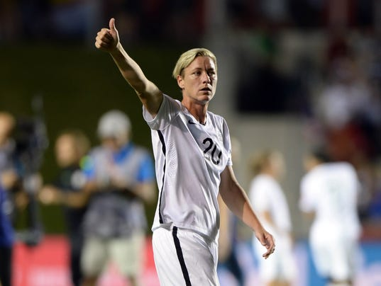 USP SOCCER: WOMEN'S WORLD CUP-UNITED STATES AT CHI S SOC CAN ON