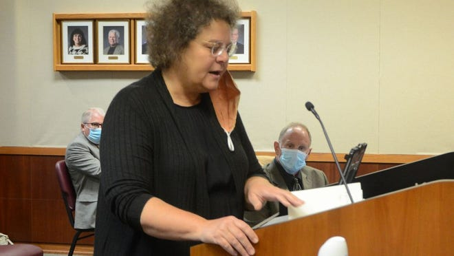 Rep. Monica Murnan (D-Pittsburg) updated the Pittsburg City Commission this week on the Strengthening People and Revitalizing Kansas (SPARK) program.