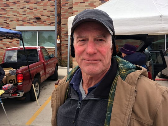 """Tom Lukens from Vernon County was a Clinton voter, he says he can't sleep now when he watches the news and views Donald Trump as deranged. """"I wouldn't keep a friend that voted for Trump. I have a neighbor that I haven't been able to speak to since. I just can't bring myself to."""""""