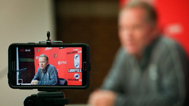 Louisville Coach Bobby Petrino shares his thoughts on going 0-3 and upcoming opponent Samford.September 21, 2015