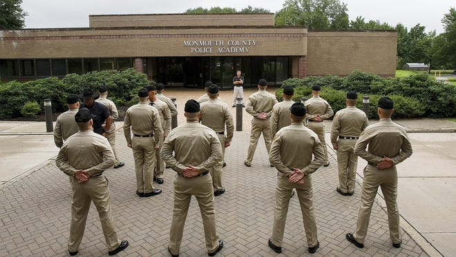 A 2009 Monmouth County Police Academy class. The police academy will undergo a $27 million upgrade.