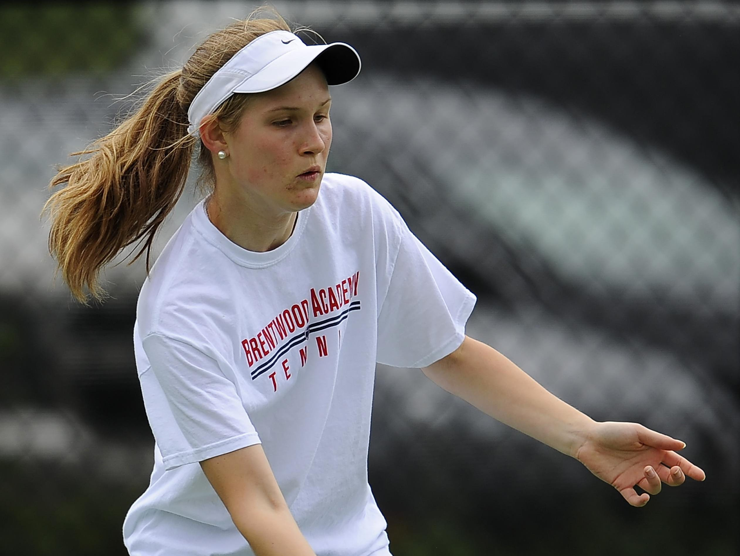 Brentwood Academy's Mackenzie Philips reached the DII-AA singles finals.