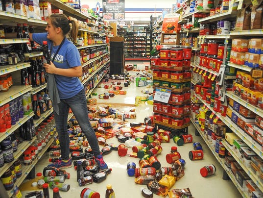 AP MIDWEST EARTHQUAKE A USA OK