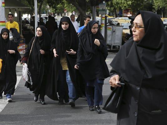 Iran Rethinking Headscarves
