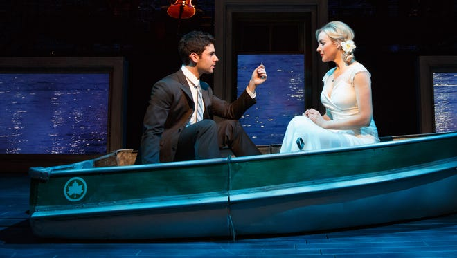"Adam Kantor and Betsy Wolfe star in the 2013 off-Broadway revival of ""The Last Five Years."" A concert version of the show comes to The Cabaret at the Columbia Club on Oct. 9-10."