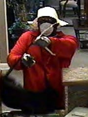 Police say this man robbed Park Sterling Bank on Thursday, May 12.