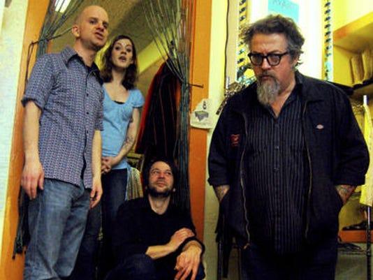 Wussy band from Cincinnati