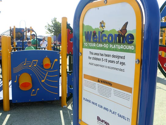 The new Can-Do Playground at Charles E. Price Memorial