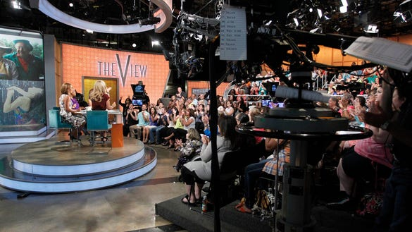 BEHIND THE SCENES AT THE VIEW