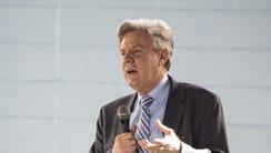 Rep. Frank Pallone Jr., D-N.J., speaks to fellow Democrats