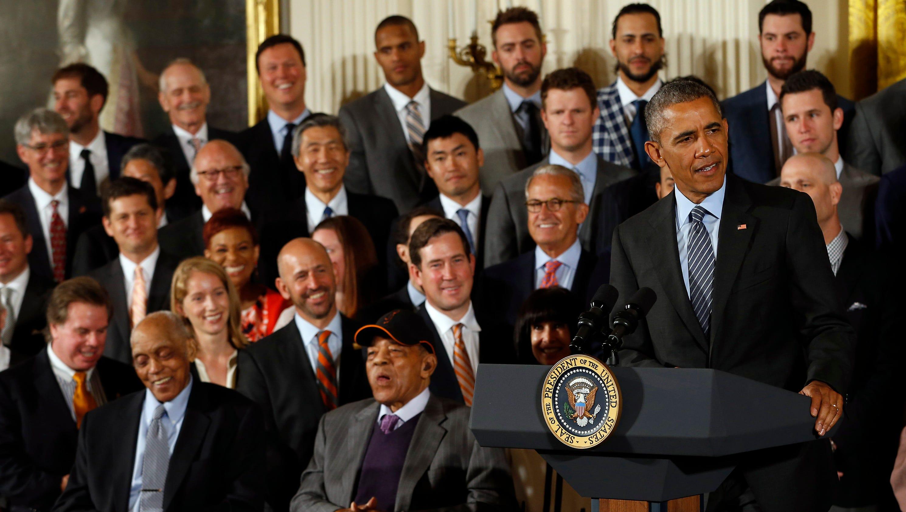 Two terms, three titles: President Obama, San Francisco ...