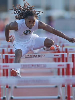 Cecilia's Terrell Chevalier is hoping to add key points to the Bulldogs' cause at the Class 4A state track meet Saturday in Baton Rouge.