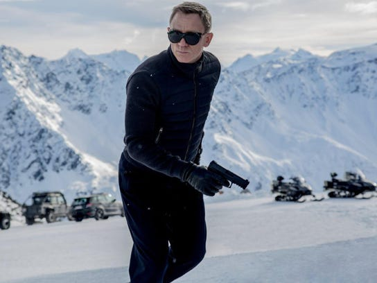 "Daniel Craig reprises his role as James Bond in ""Spectre,"""